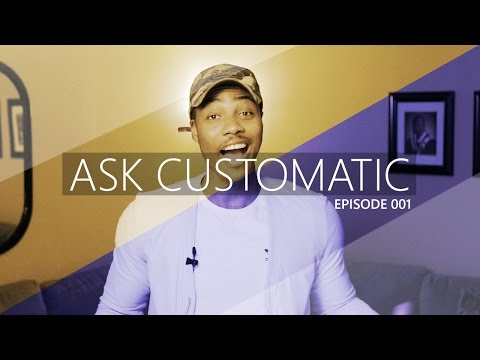 #AskCustomatic 001 | My First Video Project & What Camera For Music Videos