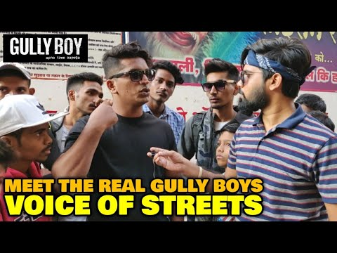Real Gully Boys REACTION & OPINION On Gully Boy Movie  Ranveer Singh  Voice Of Streets Admin Ravi