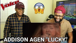 "The Voice 2017 Addison Agen - Top 10: ""Lucky"" (REACTION)"