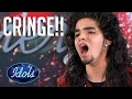 TOP 5 Cringiest Audition Videos On American Idol | Idols Global