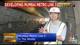 An Inside Look At Mumbai's Underground Metro | CNBC-TV18 Ground Report