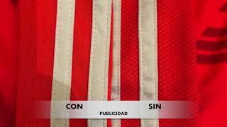 DIFERENCIAS entre la camiseta de river Roja 2017/18 y la de transición sin publicidad