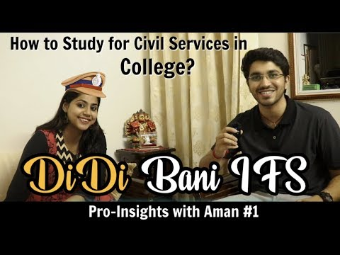 How to Study for Civil Services in College ?   Indian Foreign Services   Pro-Insights #1