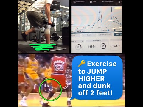 GREAT Exercise for Vertical Jump and Dunking Off 2 Feet