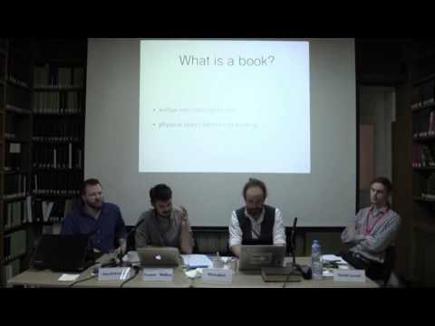 Books In Motion - Panel 5: Digital Remediation