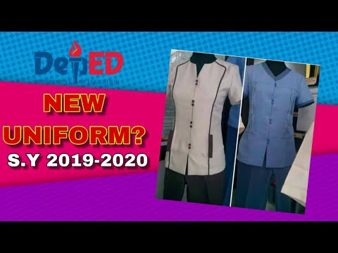 DepEd Uniform S Y  2019 - 2020 (UPDATED)