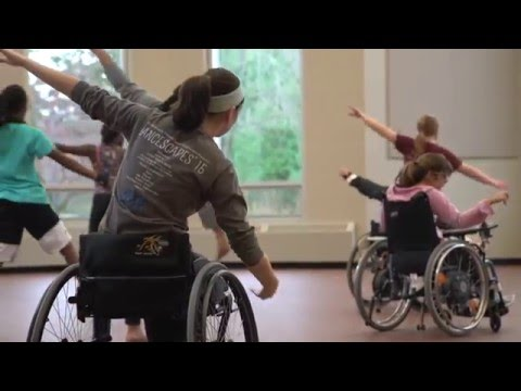 Wheelchair Dance - Taking the Leap