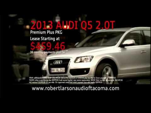 Larson Audi Q June YouTube - Larson audi
