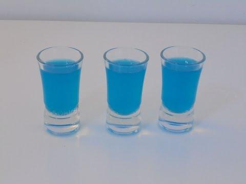 Przepis Na Shot -  Niebieskie Kamikadze (Blue Kamikaze)