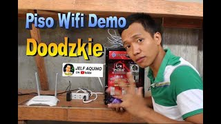 PISO WIFI VENDO MACHINE Short Demo
