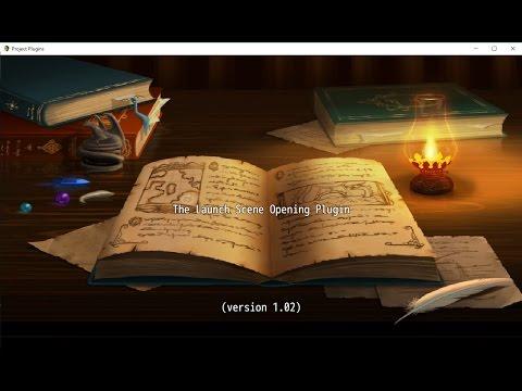 RPG Maker MV: PLugin -  Launch Scene Opening