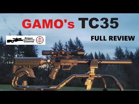 GAMO's TC35 .(357 Big Bore) PCP Air Rifle (Full Review) Part 1
