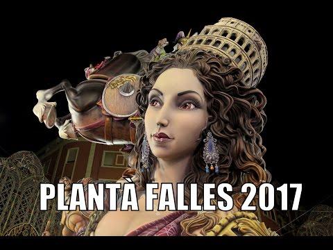 PLANTÀ 9 DE MARÇ   FALLES DE VALENCIA 2017   Fallas 2017