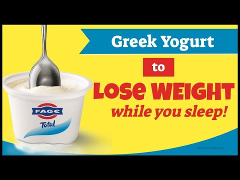 ��Greek Yogurt For Weight Loss (Yes, You Can Lose Weight While You Sleep With Yogurt.)