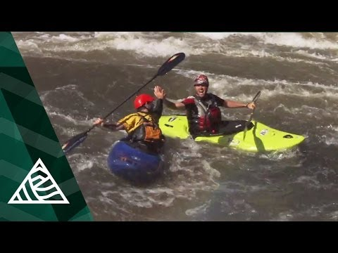 Steve Fisher Kayaking Africa's Zambezi River
