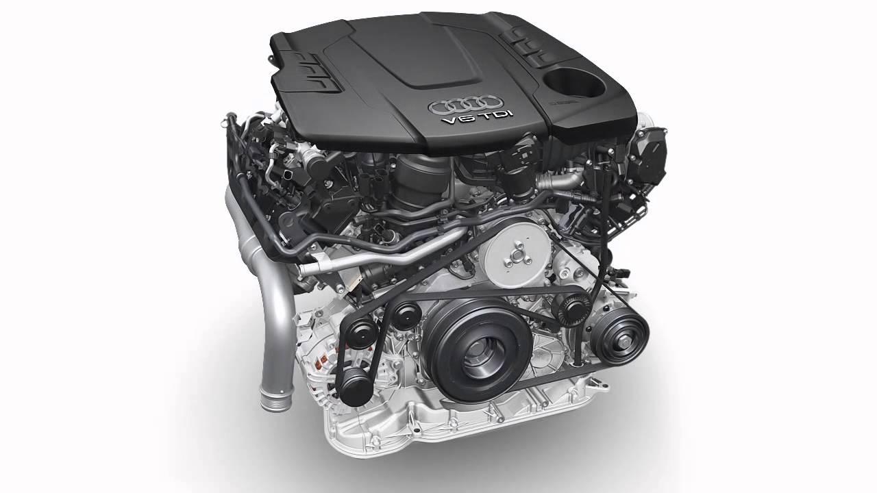 Audi Engine V6 3 0 Tdi Animation