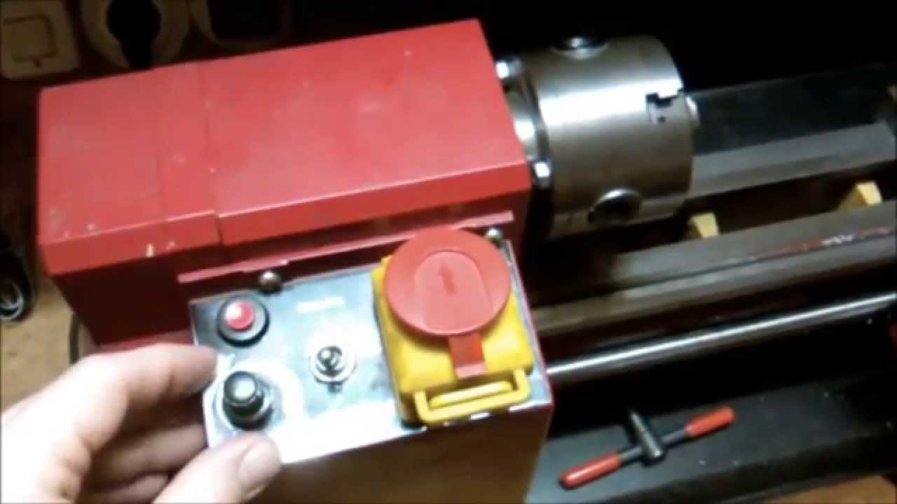 replacement of a defect motor controller of a rotwerk edm300dr lathe