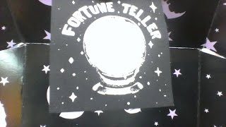 Spooky Box Club Unboxing Fortune Teller