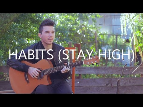 Habits (Stay High) - Tove Lo (fingerstyle guitar cover by Peter Gergely)