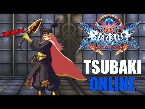 MOTHER FLIPPING JUSTICE | Blazblue Central Fiction: Tsubaki Online Matches