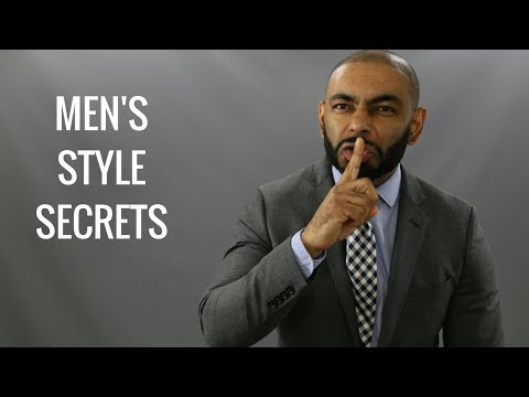 Top 10 Men's Style Secrets/Best Secrets Of Stylish Men