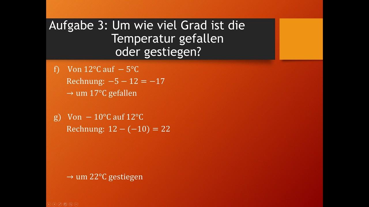 Mathe Übungsaufgaben | rationale Zahlen | Teil 1