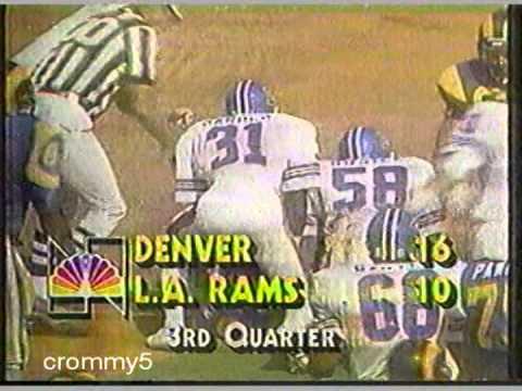 1985 NBC NFL