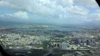 Amazing Puerto Rico MD-80 Cockpit Video Approach & Landing San Juan HD.720p