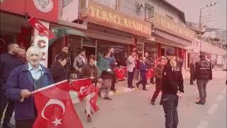 Idlip şehitleri bayraklar ve dualarla uğurlandı