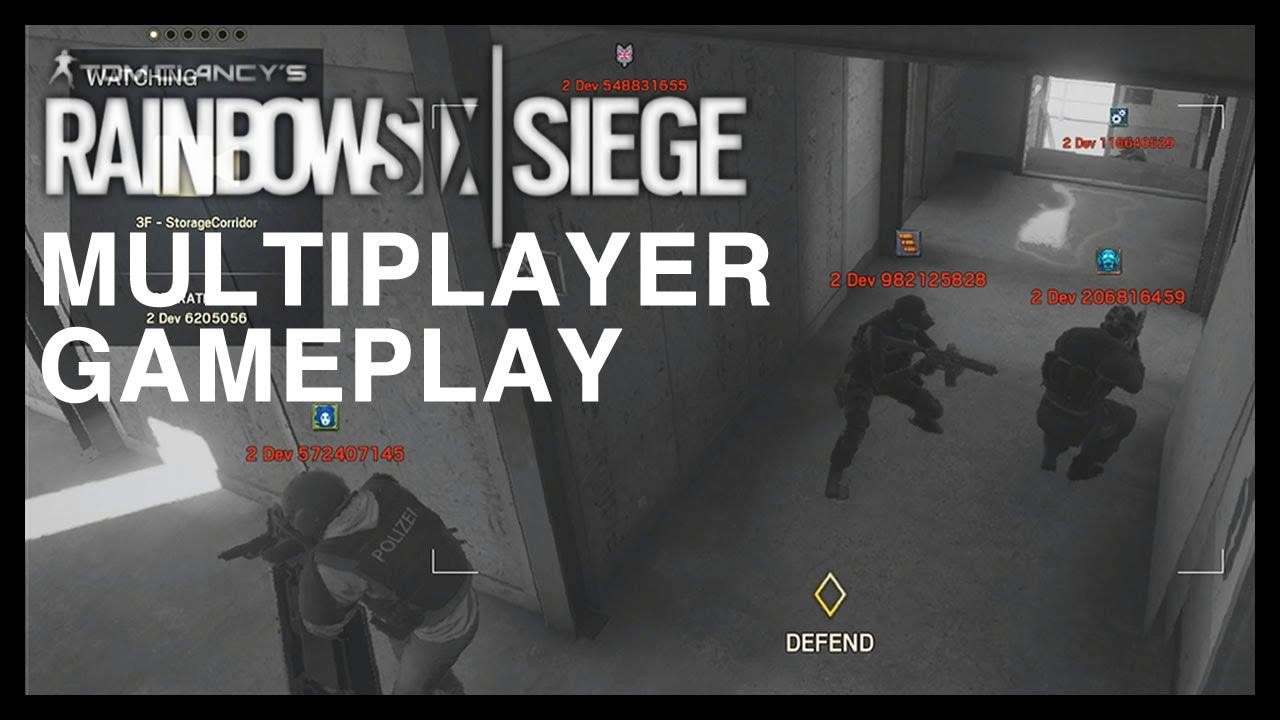 how to play splitscreen on rainbow six siege xbox one