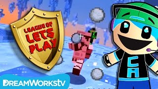 Chad Alan Plays Party Games 3 in Minecraft | LEAGUE OF LET'S PLAY