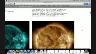 LIVE S0 News July 11, 2015 - Magnetic Storm, Sleepy Sun