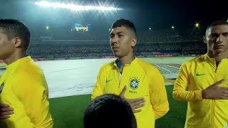 Roberto Firmino Gets An Assist Against Bolivia • 2019