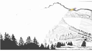 Auto Draw 2: Alpine Pasture, Kampenwand Mountain, Chiemgau, Bavaria, Germany