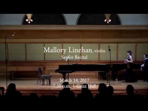 Mallory Linehan Senior Recital