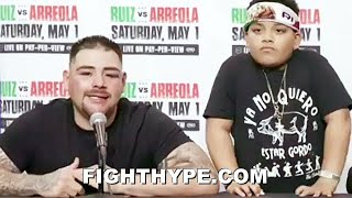 ANDY RUIZ FULL POST-FIGHT VS. CHRIS ARREOLA; AS REAL AS IT GETS ON KNOCKDOWN, FUTURE PLANS, & MORE