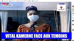 PROCES KAMERHE EN DIRECT : TEMOIGNAGE DE HAMIDA KAMERHA