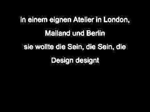 Annett Louisan - Die Sein (Liedtext/Lyrics)