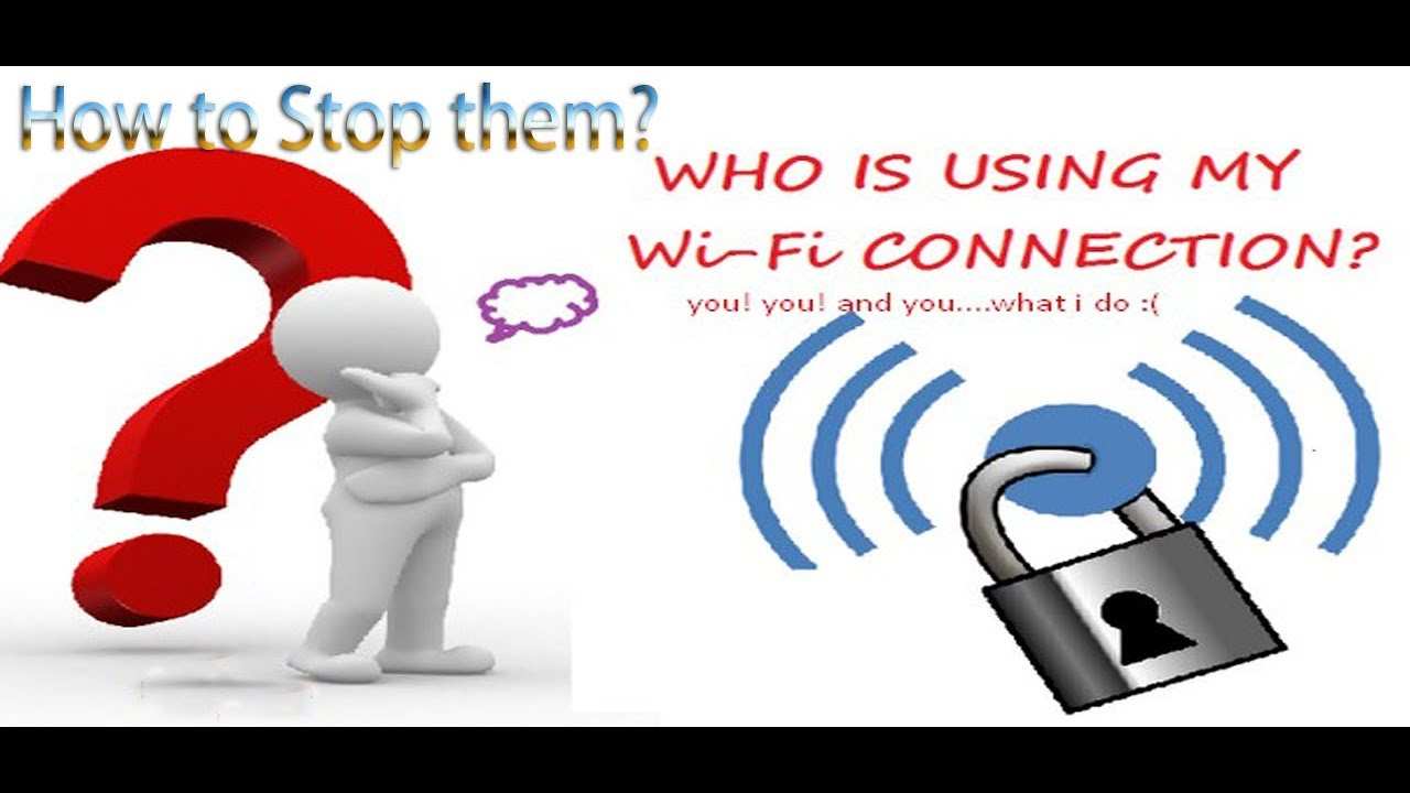 how to stop others using my wifi
