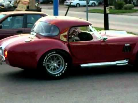 1967 Shelby Cobra Wreck Pulling Out Of Parking Lot  YouTube