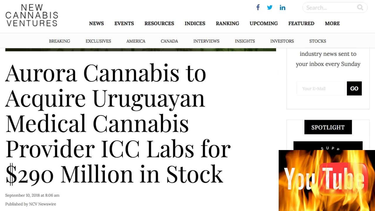 Stocks to BUY: Aurora Cannabis Inc (ACBFF) (ACB) My 100% Prediction