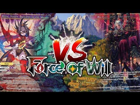 Force of Will Match: Reiya Vs Welser