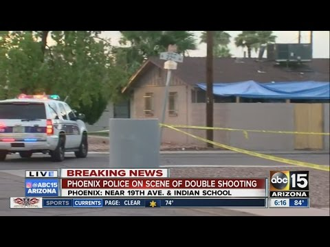 Two men in hospital after Phoenix shooting