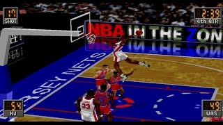 NBA in the Zone 2 Gameplay Exhibition Match (PlayStation,PSX)