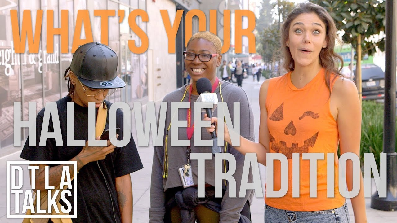 DTLA Talks | What Are You Doing For Halloween? | DTLA Talks | Splash TV