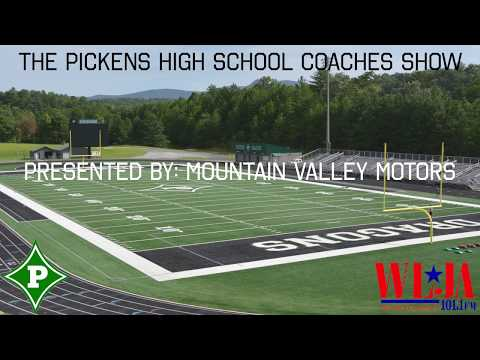 The Pickens County Coaches Show Episode 2 Presented By Mountain Valley Motors