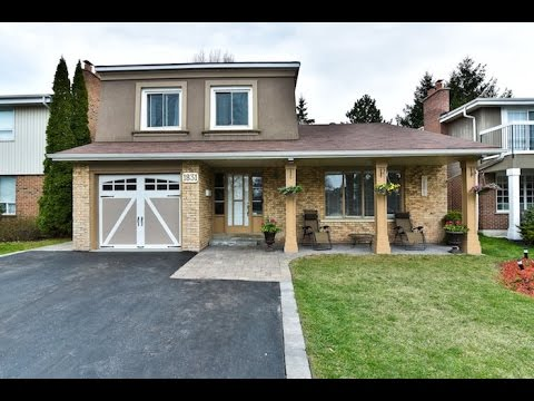 1831 Bronte Square Pickering Open House Video Tour