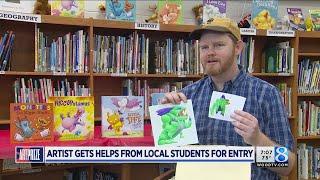 Monster validation: ArtPrize artist showcasing kids' art