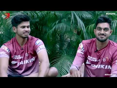 DD Roomies - Shreyas Iyer and Vijay Shankar