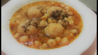 Analı Kızlı Köfteli Çorbası Tarifi Yapılışı Anatolian Supper